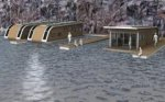 Британские архитекторы изобрели плавучий дом для путешествий