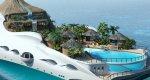 Райская яхта-остров Tropical island Paradise