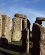 The sarsen stones and bluestones