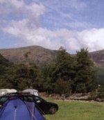 Stonethwaite Campsite, Stonethwaite, Borrowdale, Cumbria