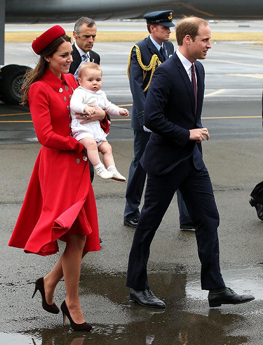 Герцоги Кембриджские взяли восьмимесячного сына в его первое путешествие – в Австралию