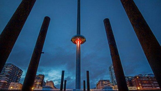 Cамая высокая в мире смотровая башня открылась в Англии