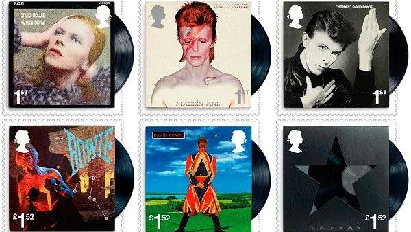 Королевская почта выпустит марки с Дэвидом Боуи