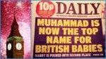 В Британии одно из самых популярных имен — Мухаммед