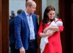 Принц Уильям и герцогиня Кембриджская назвали младшего сына Луи